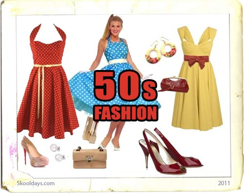 Fashion in the 50s