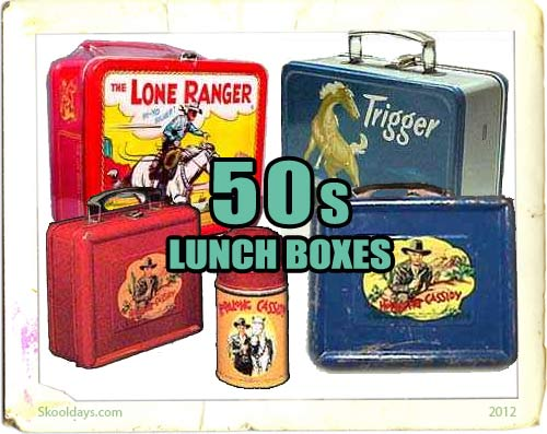 Lunchbox in the 50s