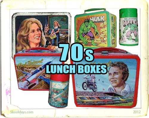 Lunchbox in the 70s
