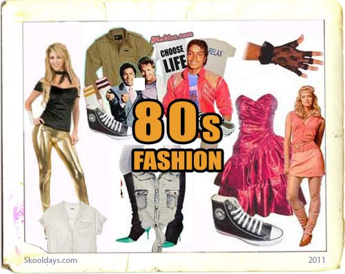 Fashion in the 80s