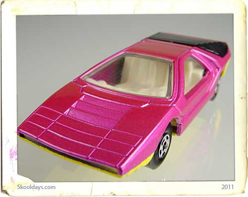 Alfa Carabo Matchbox car