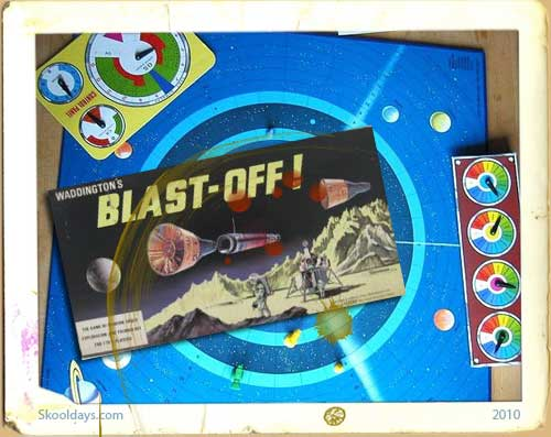 Blast Off Space Race Board Game