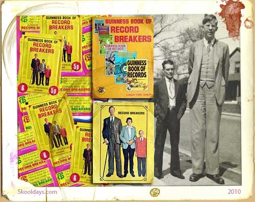 Record Breakers Collector's Sticker Album