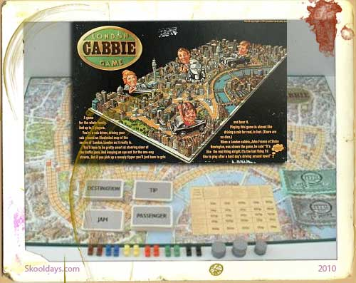 London Cabbie Board Game