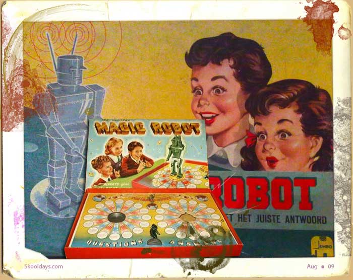 Magic Robot Quiz Game