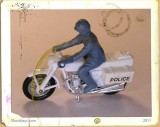 Matchbox Police Motor Cycle