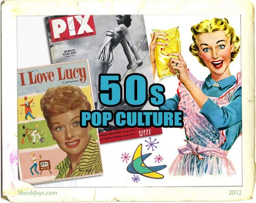Pop Culture in the 50s