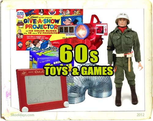 Vintage Toys From The 60s : Toys in the s