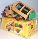 Dinky Bedford Refuse Truck