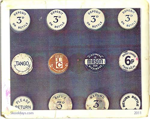 Bottle Tops Of The UK: 60s-70s
