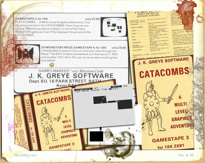 Zx81 Catacombs