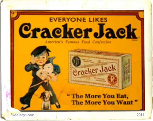 60s Cracker Jack Candy Commercial