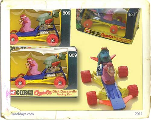 Corgi Dick Dastardly Racing car