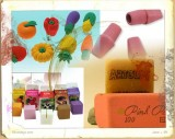 Rubbers or erasers