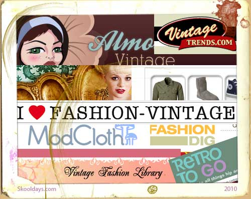 Amazing Vintage Fashion Sites we Follow