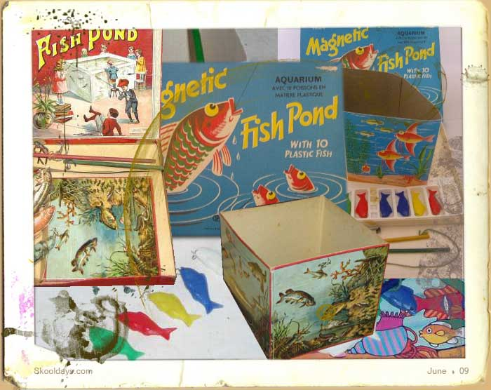 Magnetic fish pond game for Fish pond game
