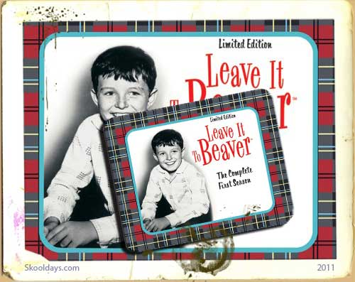 Lunchbox with Leave it to Beaver dvd