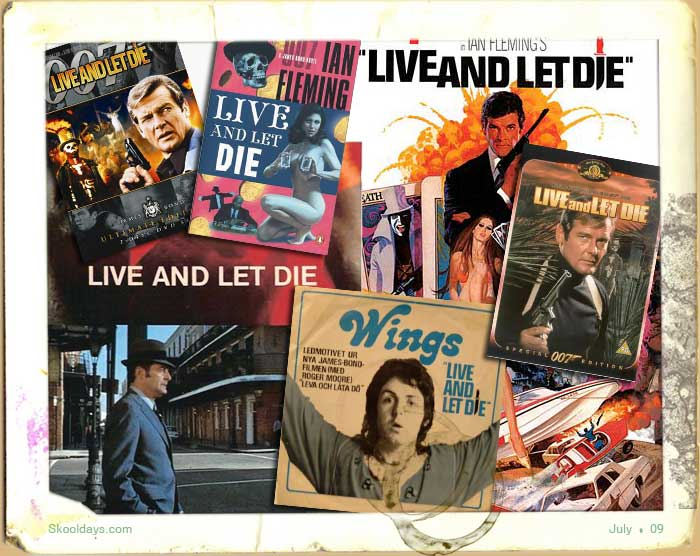 Live and let die 1970s movie