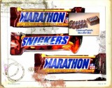 Marathon and Snickers