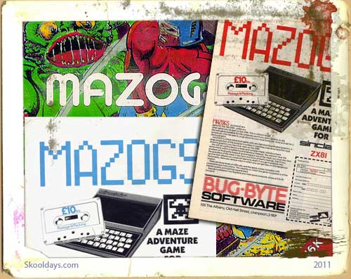 ZX81 Mazogs Advert