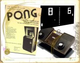 1972 Atari released Pong to the world