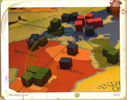 Classic Version of Risk board game