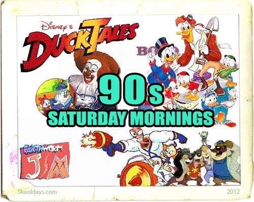 Saturday in the 90s