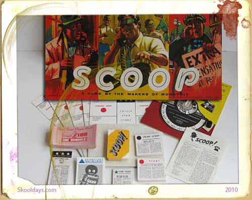 Scoop Board Game