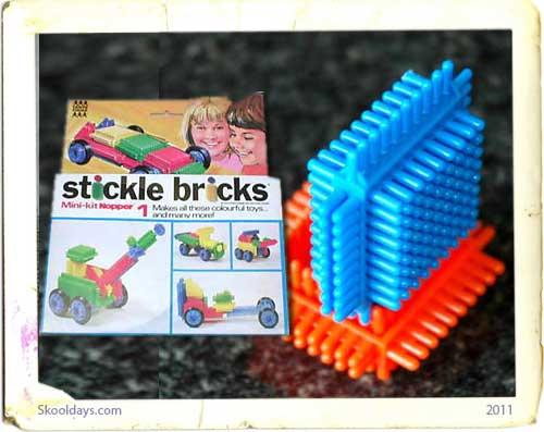 Plastic Stickle Bricks
