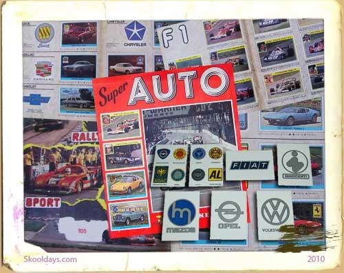 Super Auto Sticker Cover