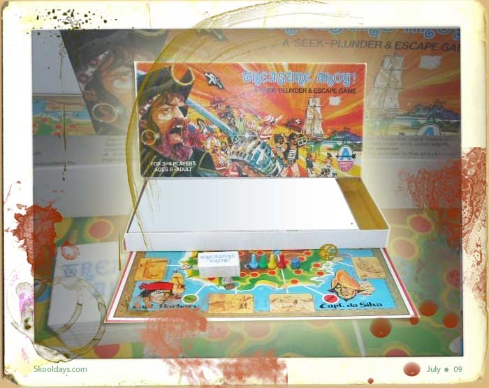 Treasure Ahoy Board Game