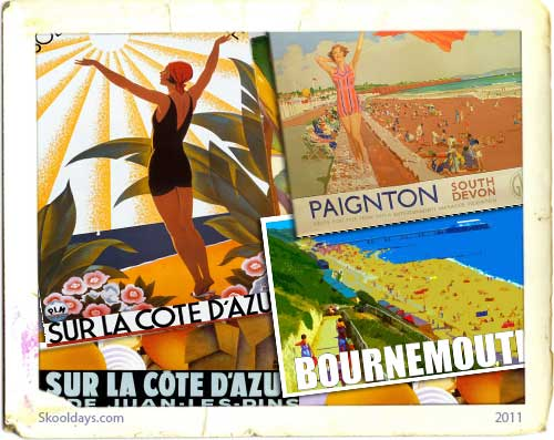 Vintage Holiday Posters