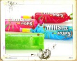 Whistle pop candy