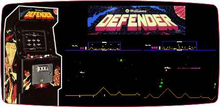 Awesome aracde game - Defender