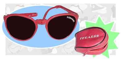 Ferrari Folding Sunglasses  ferrari sunglasses old memories
