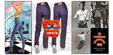Levis Jeans Old Memories