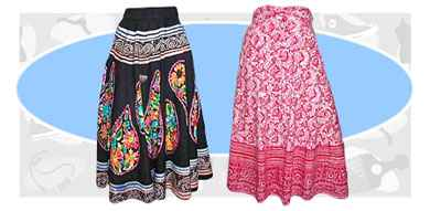 Peasant skirts: Old Memories