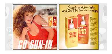 Image result for sun in 80s hair