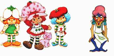 Strawberry Shortcake Old Memories