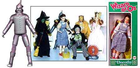 Wizard Of Oz Action Figures
