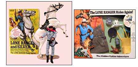 Lone Ranger action figures