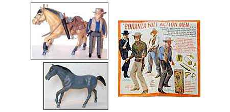 Bonanza action figures