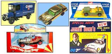 Corgi Die Cast Vehicles